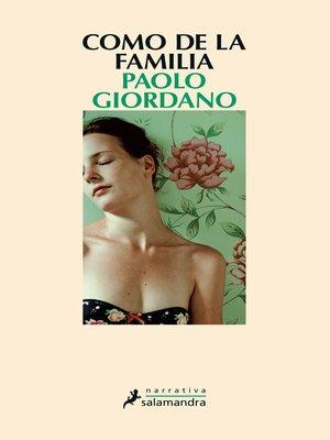 cover image of Como de la familia