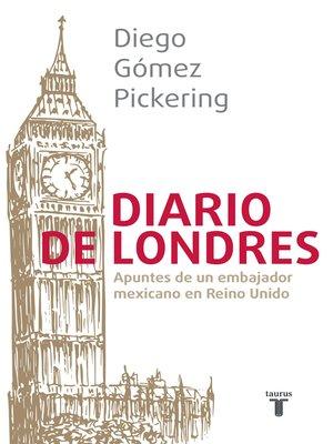 cover image of Diario de Londres