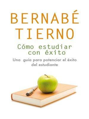 cover image of Cómo estudiar con éxito