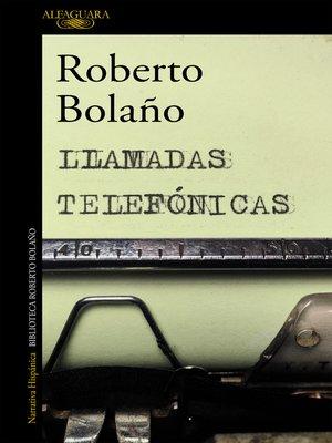 cover image of Llamadas telefónicas