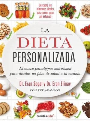 cover image of La dieta personalizada (Colección Vital)