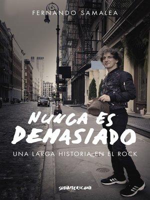 cover image of Nunca es demasiado