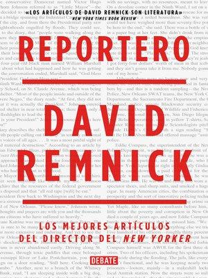 cover image of Reportero