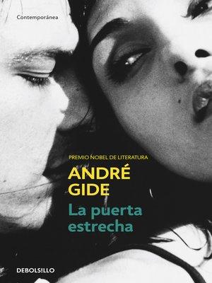 cover image of La puerta estrecha