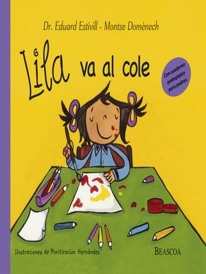cover image of Lila va al cole