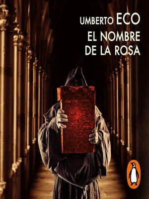cover image of El nombre de la rosa