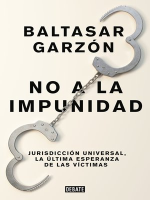 cover image of No a la impunidad