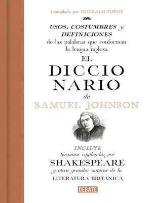 cover image of El diccionario de Samuel Johnson