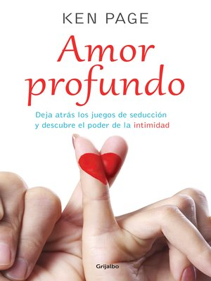 cover image of Amor profundo