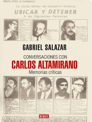 cover image of Conversaciones con Carlos Altamirano