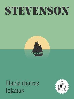 cover image of Hacia tierras lejanas