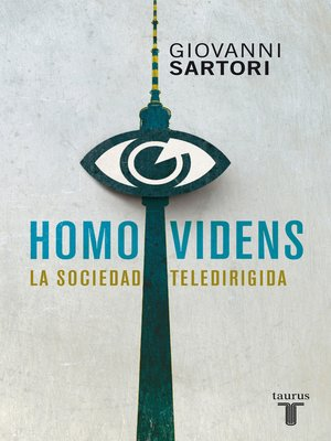 cover image of Homo videns