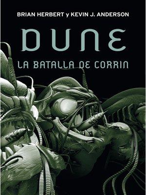 cover image of La batalla de Corrin (Leyendas de Dune 3)