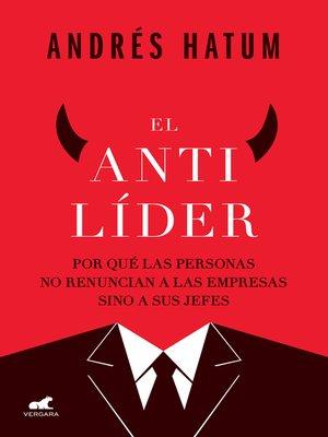 cover image of El antilíder