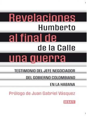cover image of Revelaciones al final de una guerra
