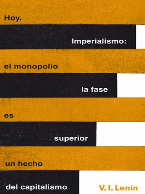 cover image of Imperialismo