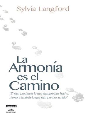 cover image of La Armonía es el camino