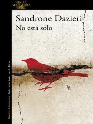 cover image of No está solo (Colomba y Dante 1)