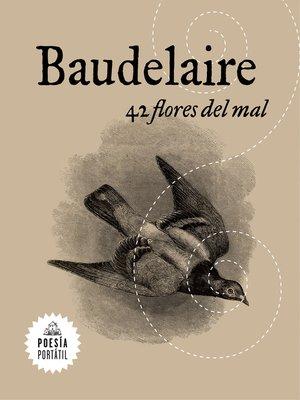 cover image of 42 flores del mal (Flash Poesía)
