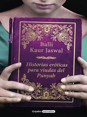 cover image of Historias eróticas para viudas del Punyab