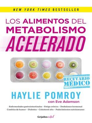 cover image of Los alimentos del metabolismo acelerado (Colección Vital)