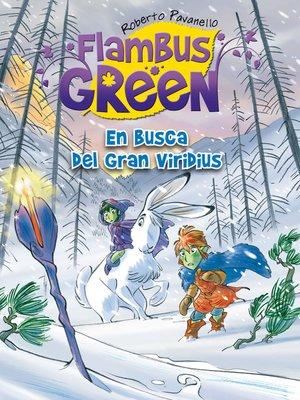 cover image of En busca del Gran Viridius (Saga Flambus Green)