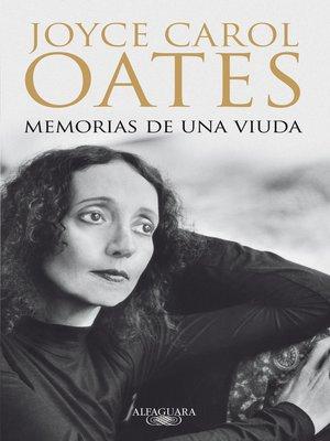 cover image of Memorias de una viuda