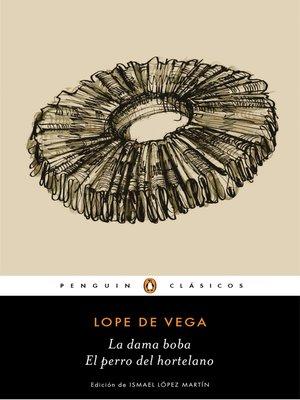 cover image of La dama boba | El perro del hortelano