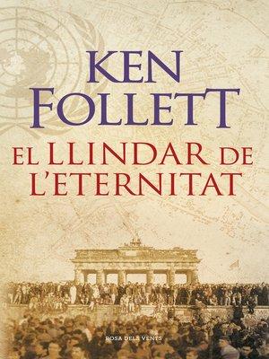 cover image of El llindar de l'eternitat (The Century 3)