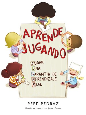 cover image of Aprende jugando