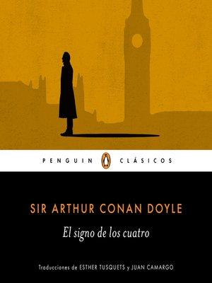 cover image of El signo de los cuatro