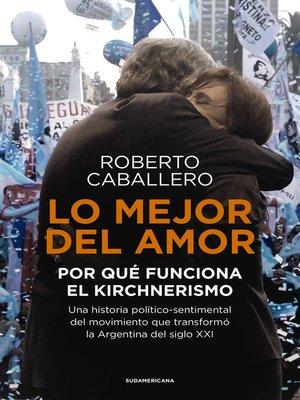 cover image of Lo mejor del amor