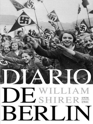 cover image of Diario de Berlín. 1936-1941