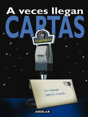 cover image of A veces llegan cartas