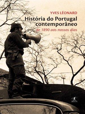 cover image of História do Portugal contemporâneo