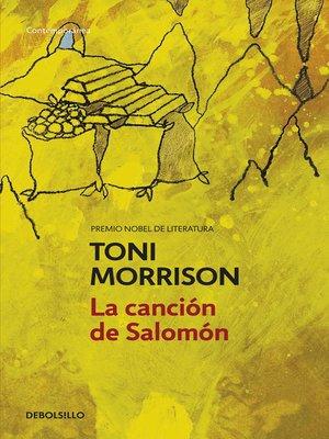 cover image of La canción de Salomón
