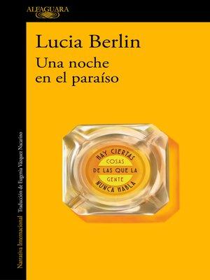 cover image of Una noche en el paraíso