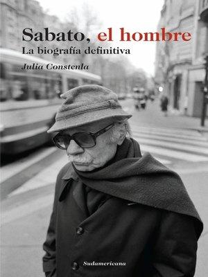 cover image of Sabato, el hombre
