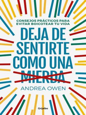 cover image of Deja de sentirte como una mierda