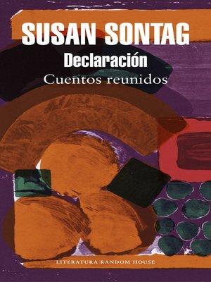 cover image of Declaración