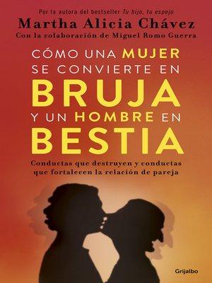 cover image of Cómo una mujer se convierte en bruja y un hombre en bestia