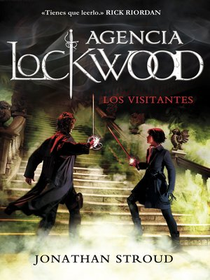 cover image of Los visitantes (Agencia Lockwood 1)