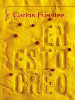 cover image of En esto creo