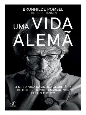 cover image of Uma vida alemã