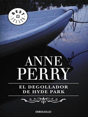 cover image of El degollador de Hyde Park
