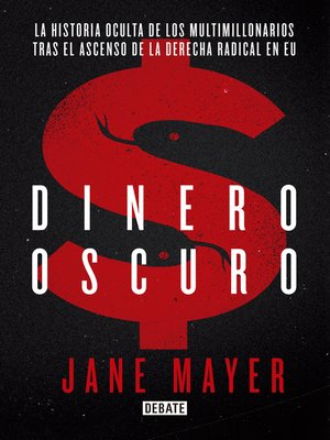 cover image of Dinero oscuro
