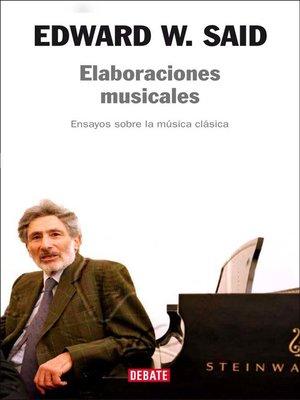 cover image of Elaboraciones musicales