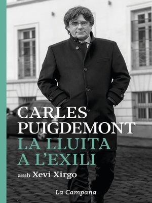 cover image of La lluita a l'exili