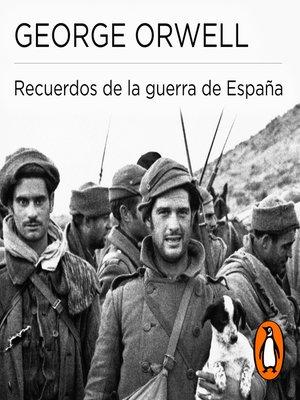 cover image of Recuerdos de la guerra de España