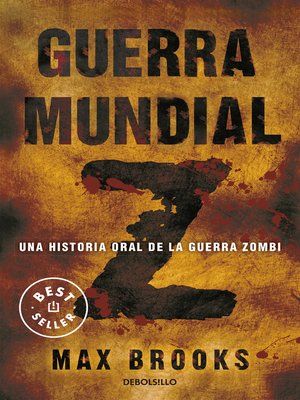 cover image of Guerra mundial Z